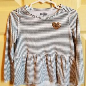 Osh kosh toddler girl shirt
